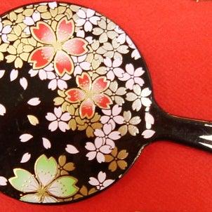 京都のしだれ桜の画像
