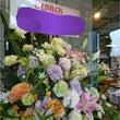 開店のスタンド花配達…