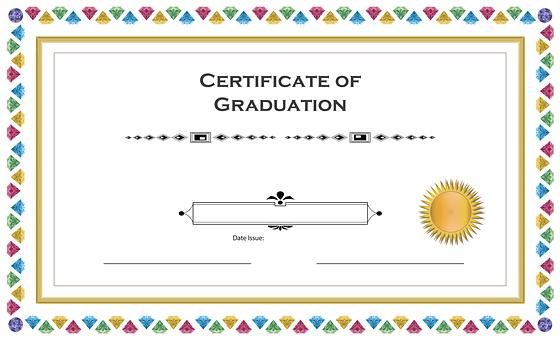 卒業 証書 英語