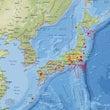 全国的に地震計数値が…