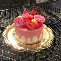 フェイクケーキ完成し…