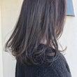 熱処理した髪(コテの…