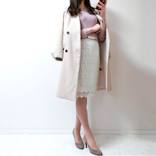 【UNIQLO】人と被らないトレンチコートは清楚な雰囲気満点◎の韓国ファッションで♡
