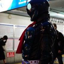 下北沢で仮面ライダー