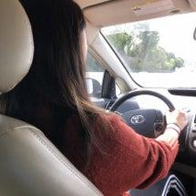 娘の運転で