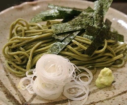 赤坂津やま 茶蕎麦