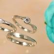 婚約指輪と結婚指輪を…