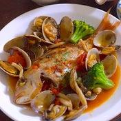 お安い白身魚で簡単アクアパッツァ