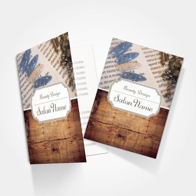 サロンリーフレット,美容パンフレット印刷