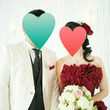 幸せいっぱいの成婚者…