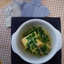 揚げ出し豆腐&豆苗☆…