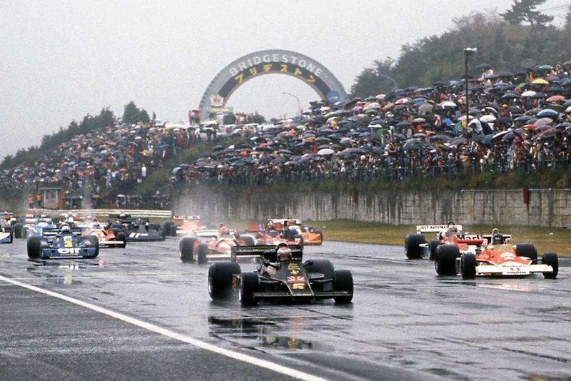 1976年 Japan-GP   サッキーのお...