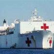 米軍病院船の台湾寄港…