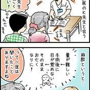手術前の説明、麻酔科の先生と会う