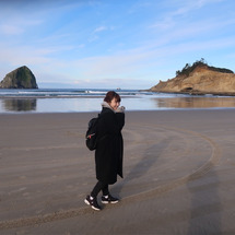 大きい砂の山