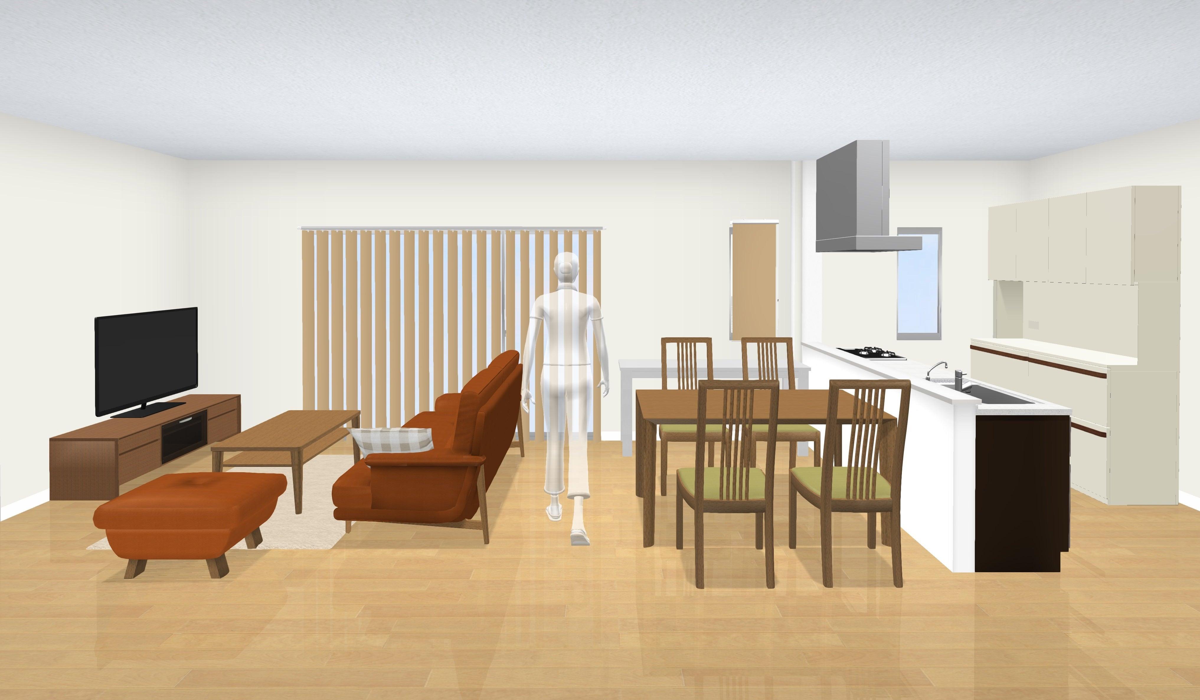 3Dシュミレーションでインテリアコーディネート|山本家具 | 岐阜県