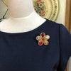 Scarlet Flower 2wayブローチの画像