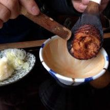 高遠 焼き味噌で蕎麦