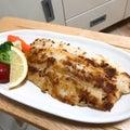白身魚のマヨパン粉焼き