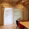 ≪ご新築のカフェスタイル リネン風カーテン≫の画像