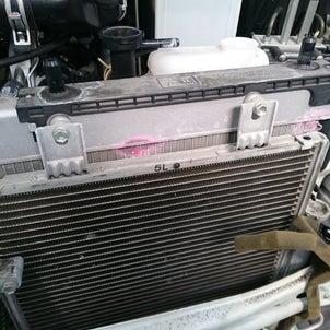ラジエーター交換の画像