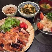 【昨日の晩ごはん☆焼くだけ簡単!鶏もも肉のみそ漬け焼き】