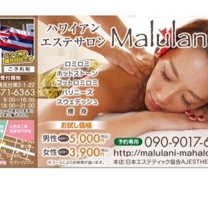 木更津ハワイアンサロンMalulani のご案内の画像