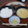 京都の今井食堂でさば…