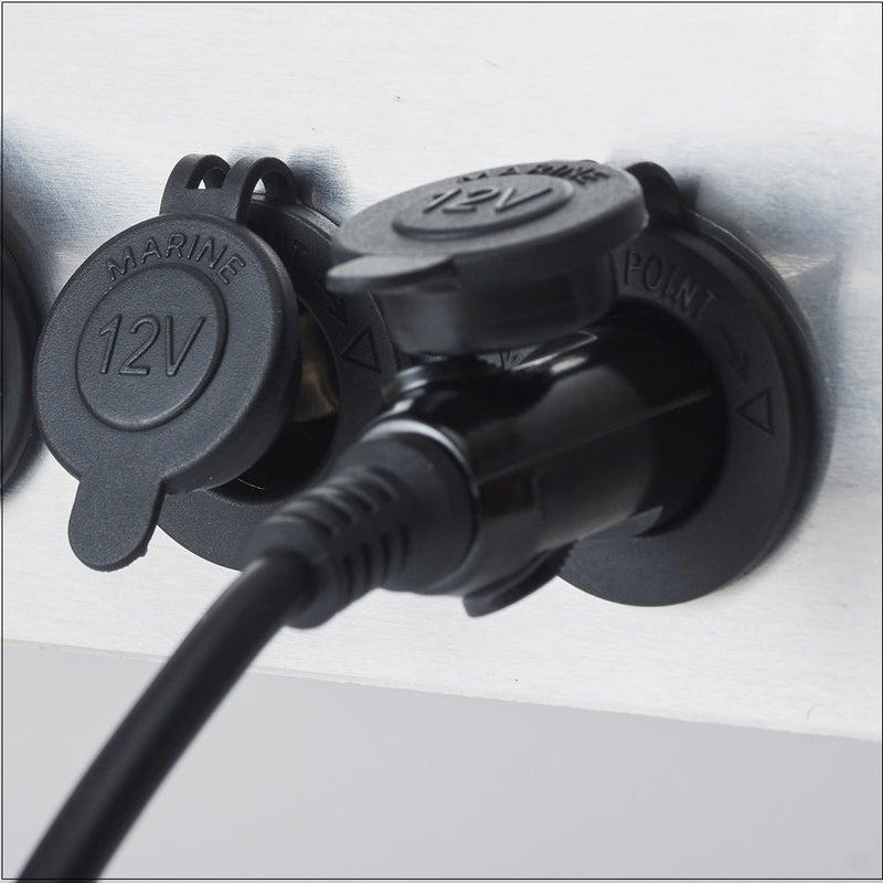 キズナけーぶる 直流一家シリーズ専用特殊ケーブル 埋込式シガーソケットコード