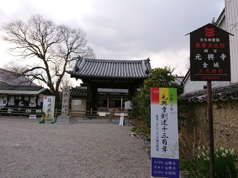 元興寺 (奈良市中院町) | 御朱...