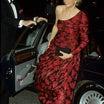 【英国王室】ダイアナ妃 赤のキャサリン・ウォーカードレスでパリのツアー1988年