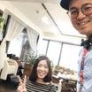 はるばる東京から(*^▽^*) 長堀橋美容室 南船場美容室 ウナカシータ