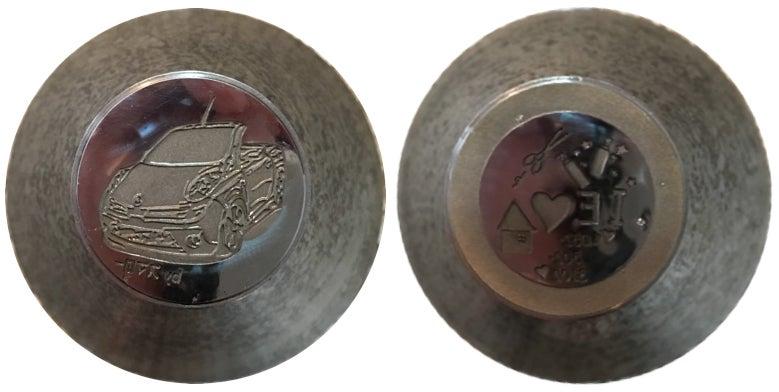 茶平工業製記念メダル金型