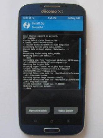 Galaxy S4(SC-04E)をカスタムROMで復活 | 見よう見まねのブログ