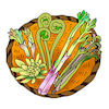 春の山菜の画像