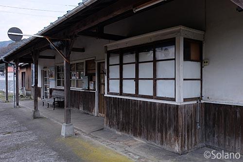 川平駅、駅舎ホーム側