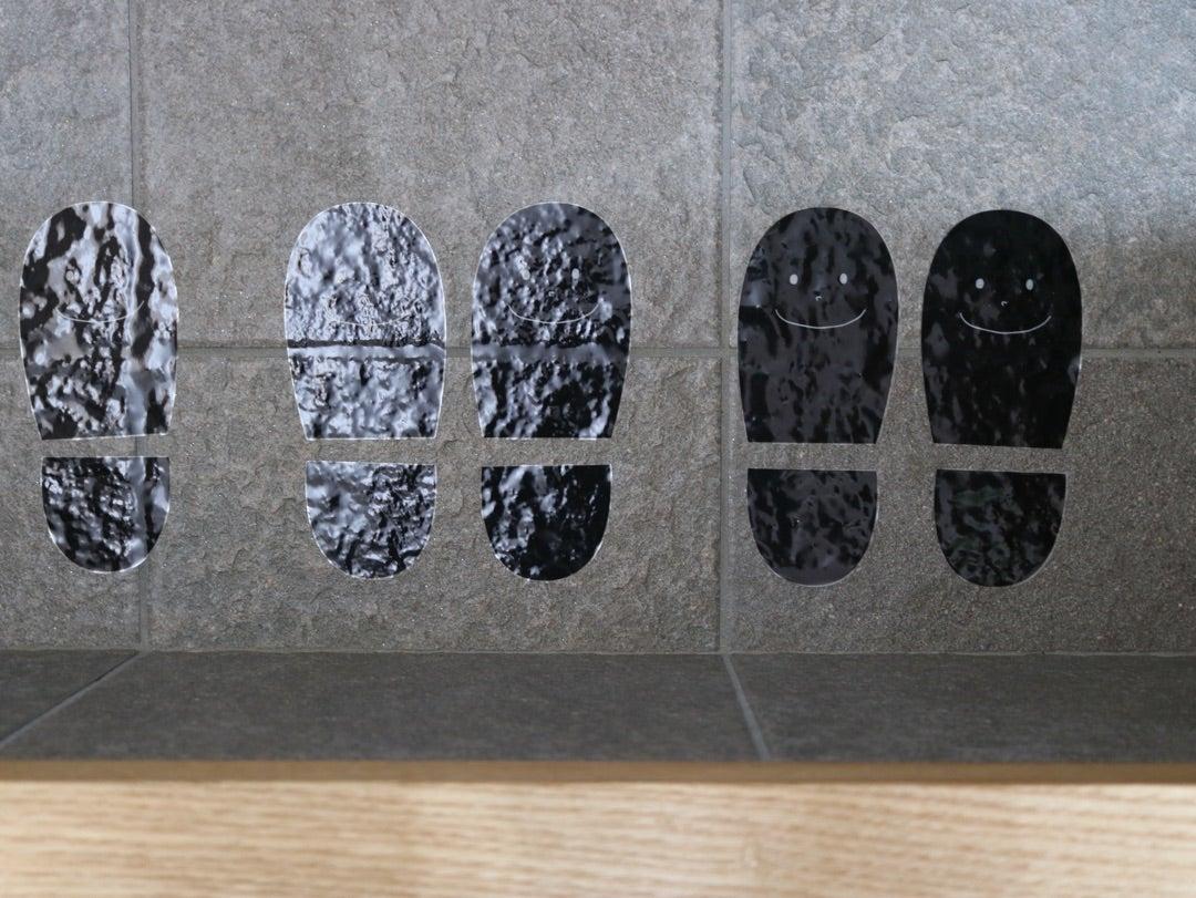 子供が靴を揃えて置きたくなる工夫。