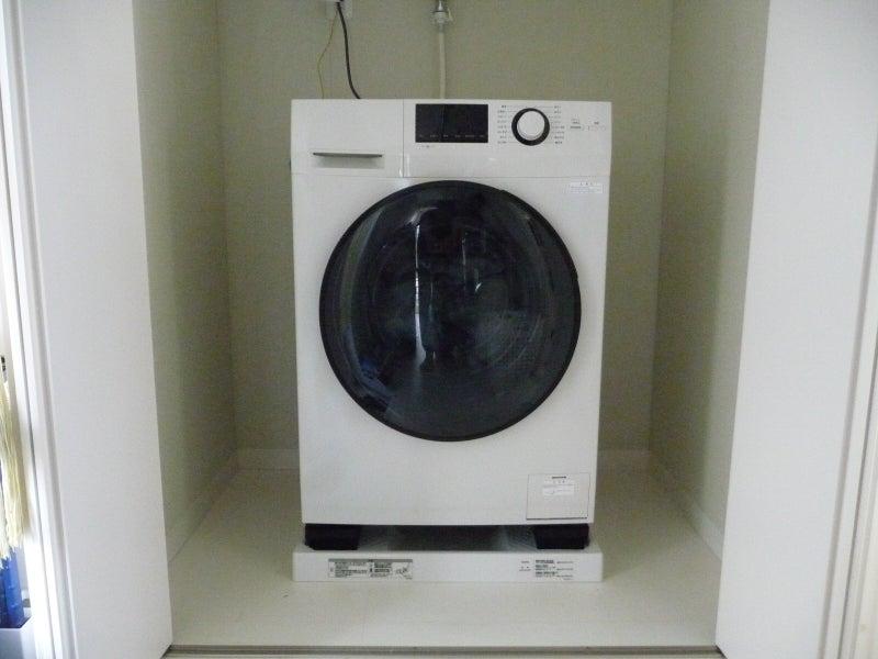 乾燥機能はいらない、ドラム式がイイ……、で、無印良品のドラム式洗濯機にしました。