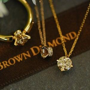 一粒の美しさにこだわった「カシケイソリティア」-BROWN DIAMOND-の画像