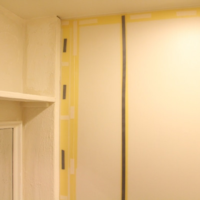 狭い・暗い・ダサい!三重苦のトイレをDIYでフレンチシャビー風に♪③漆喰と腰板での記事に添付されている画像