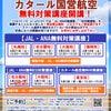 【募集】無料対策講座開講~JAL・ANA・カタール航空~の画像