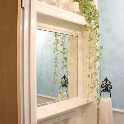 狭い・暗い・ダサい!三重苦のトイレをDIYでフレンチシャビー風に♪④トイレが完成の記事に添付されている画像