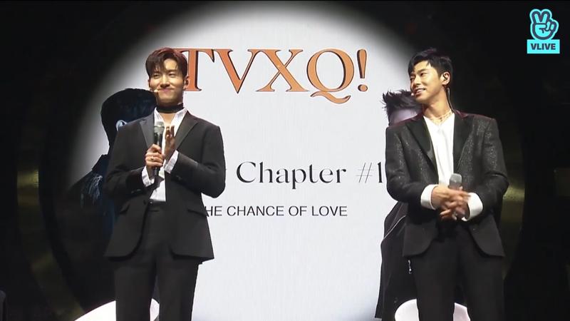 V LIVE] [TVXQ!] 東方神起はまさ...