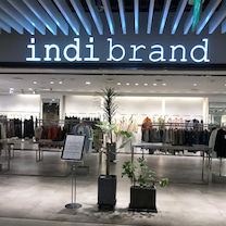 たまには激安ではない服を★明洞「indi brand」の記事に添付されている画像