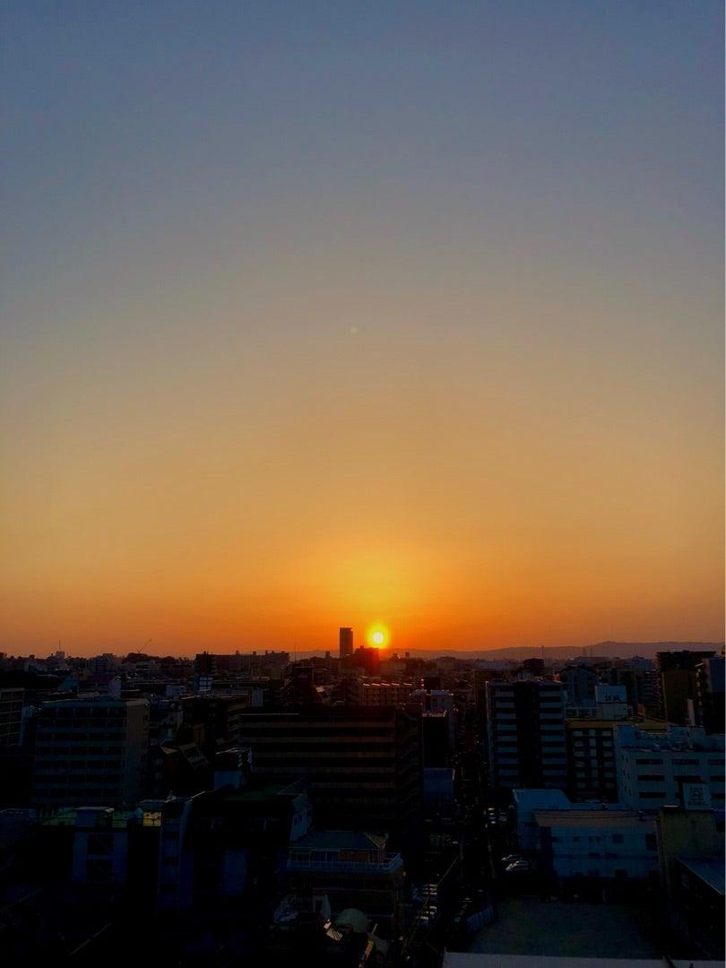 日の入り 大阪 日の出