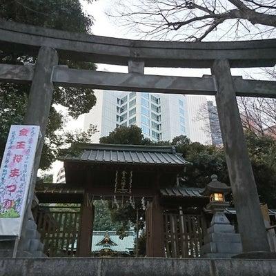 不思議体験日記(桜の中で例祭 金王八幡宮(渋谷)の神々がいらした その1)の記事に添付されている画像