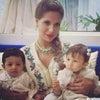 【モロッコ公室】Lalla Soukainaと双子ちゃんの画像