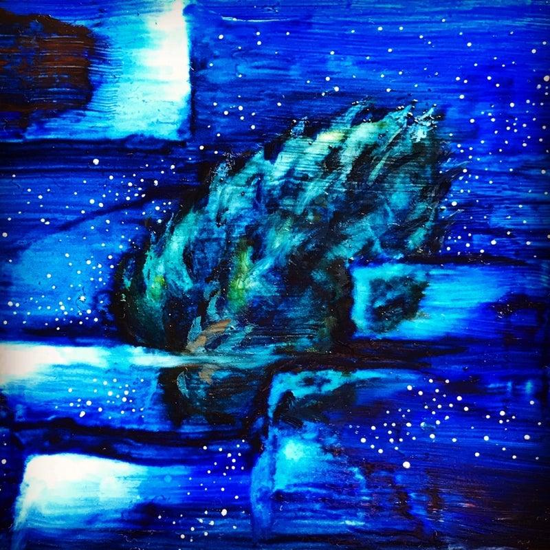 銀河鉄道の夜 プリオシン海岸のくるみの化石 イラスト Kitutoの絵本と