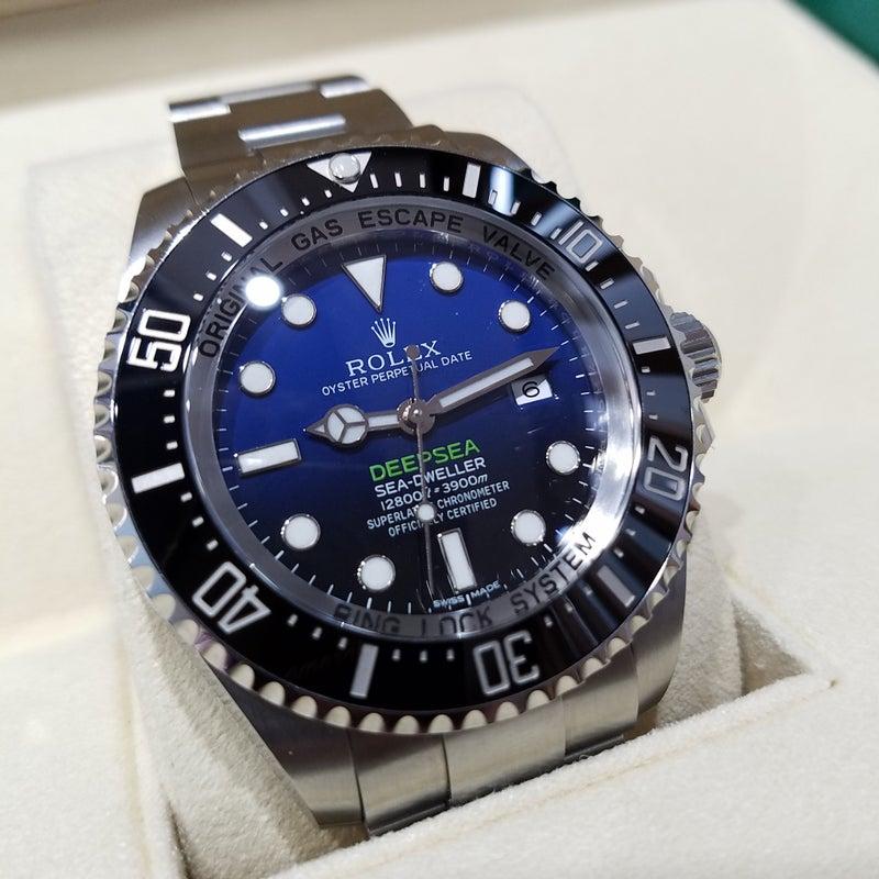 newest collection b72c7 70e8c ROLEX 116660Dブルー 下がる青に上がる価格 | 腕時計見聞録