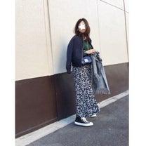 """""""買わずにはいられなかったGUスカートで上下1080円のプチプラコーデ""""の記事に添付されている画像"""